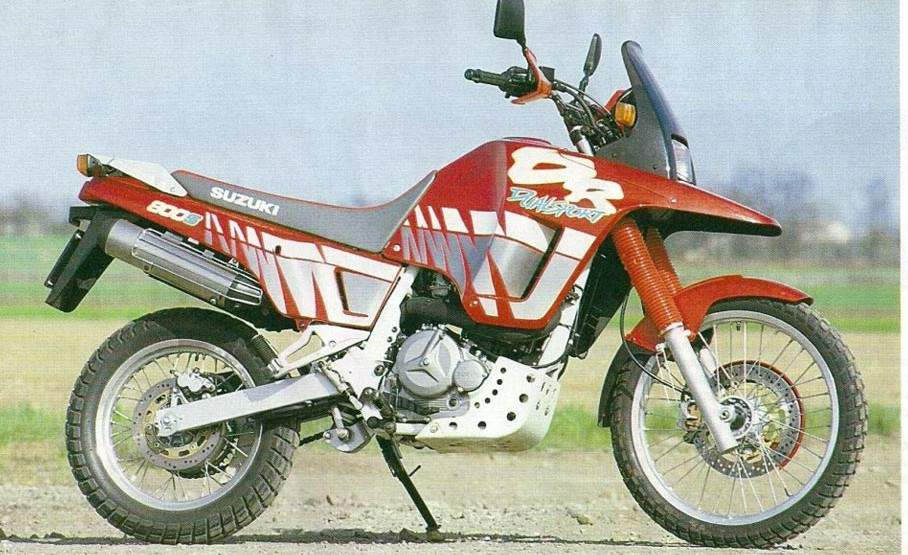 Suzuki DR 800S Big technical specifications